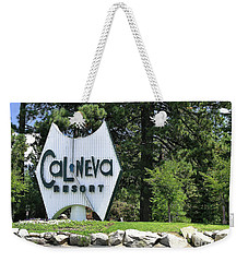 Cal Neva Resort - Lake Tahoe Weekender Tote Bag