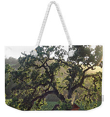 Weekender Tote Bag featuring the photograph Cali Setting by Shawn Marlow
