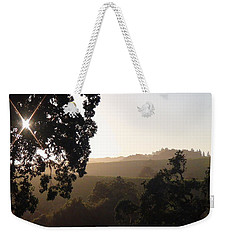 Weekender Tote Bag featuring the photograph Cali Sun Set by Shawn Marlow