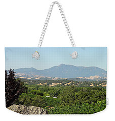 Weekender Tote Bag featuring the photograph Cali View by Shawn Marlow