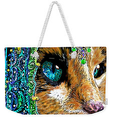 Calico Indian Bride Cats In Hats Weekender Tote Bag
