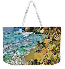 Californa Shore Weekender Tote Bag by Benjamin Yeager