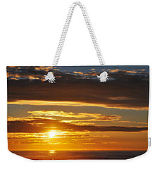 Weekender Tote Bag featuring the photograph California Central Coast Sunset by Kyle Hanson