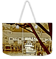California Coastal Harbor Weekender Tote Bag