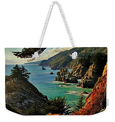 California Coastline Weekender Tote Bag by Benjamin Yeager