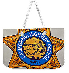 California Highway Patrol Weekender Tote Bag