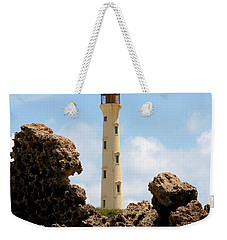 California Lighthouse Aruba Weekender Tote Bag