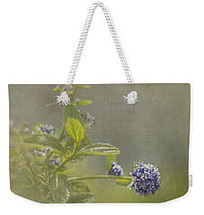 California Lilac Weekender Tote Bag by Clare Bambers