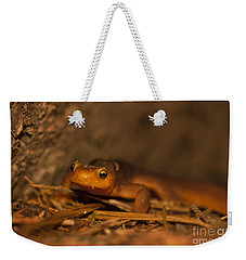 California Newt Weekender Tote Bag by Ron Sanford