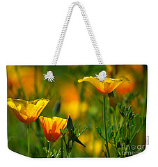 California Poppies Weekender Tote Bag by Deb Halloran