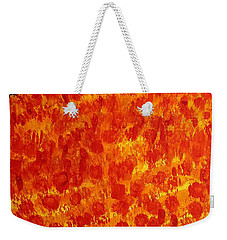 California Poppies Original Painting Weekender Tote Bag
