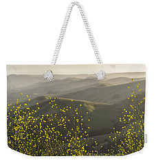 Weekender Tote Bag featuring the photograph California Wildflowers by Steven Sparks