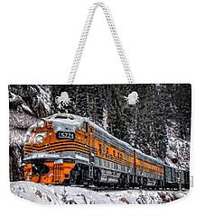 California Zephyr Weekender Tote Bag