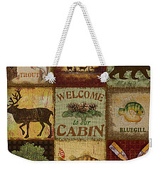 Call Of The Wilderness Weekender Tote Bag by Jean Plout