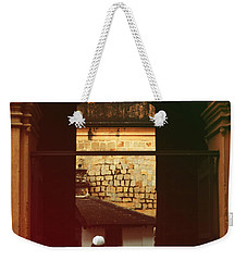 Weekender Tote Bag featuring the photograph Call To Prayer by Mini Arora
