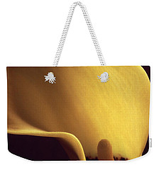 Calla Lily Close Up Weekender Tote Bag by Liz Leyden