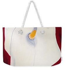 Calla Lily Weekender Tote Bag