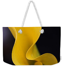Weekender Tote Bag featuring the photograph Calla Lily by Joy Watson