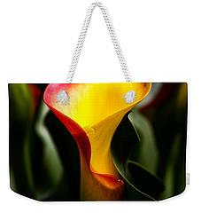 Calla Lily Weekender Tote Bag by Menachem Ganon