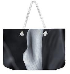 Calla Lily No. 2 - Bw Weekender Tote Bag