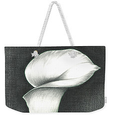 Calla Lily Weekender Tote Bag by Troy Levesque