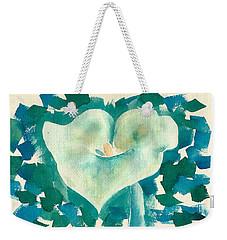 Calla Lily Watercolor Weekender Tote Bag