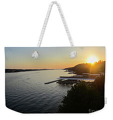 Calling It A Day Weekender Tote Bag by Fiona Kennard