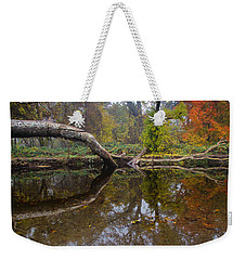 Calm On Big Chico Creek Weekender Tote Bag