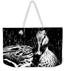 Calm On The Surface Weekender Tote Bag by Lisa Brandel