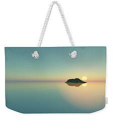 Calm Seas Sunset... Weekender Tote Bag by Tim Fillingim