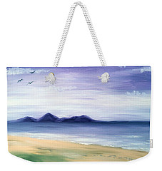 Calm Seashore Weekender Tote Bag