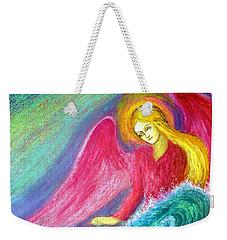 Calming Angel Weekender Tote Bag