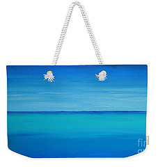 Calming Turquise Sea Part 1 Of 2 Weekender Tote Bag