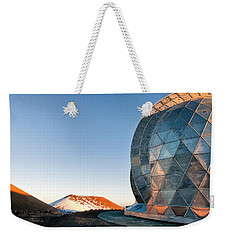 Weekender Tote Bag featuring the photograph Caltech Submillimeter Observatory by Jim Thompson