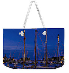 Camden Harbor Maine At 4am Weekender Tote Bag