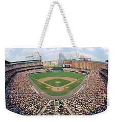 Camden Yards Baltimore Md Weekender Tote Bag by Panoramic Images