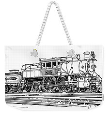 Camelback Engine Number 1027 Weekender Tote Bag