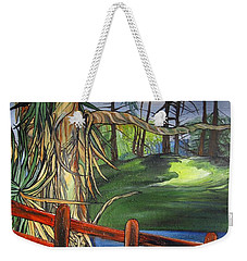 Camino Real Park Weekender Tote Bag by Mary Ellen Frazee