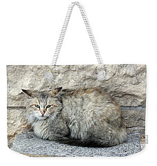 Camo Cat Weekender Tote Bag