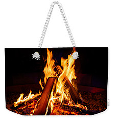 Camp Fire Weekender Tote Bag