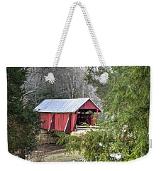 Campbell's Covered Bridge-1 Weekender Tote Bag by Charles Hite