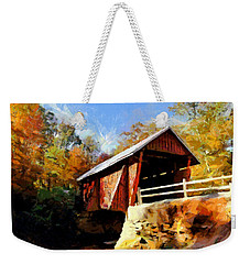 Campbell's Covered Bridge Weekender Tote Bag