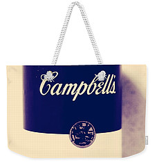 Campbells Soup Weekender Tote Bag