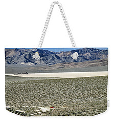 Camped At The End Of The Road Weekender Tote Bag by Joe Schofield