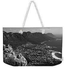 Camps Bay View Cape Town Weekender Tote Bag