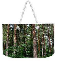 Campsite Near Holland State Park Weekender Tote Bag