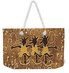 Can Can Dancers Weekender Tote Bag