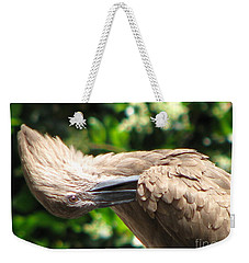 Weekender Tote Bag featuring the photograph Can You Do This by Greg Patzer