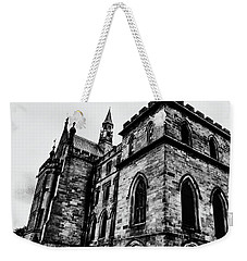 Weekender Tote Bag featuring the photograph Can You Hear Me by Doc Braham