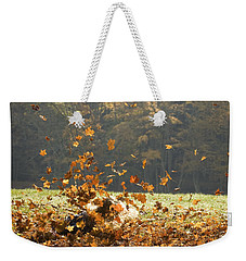 Weekender Tote Bag featuring the photograph Can You See Me? by Carol Lynn Coronios